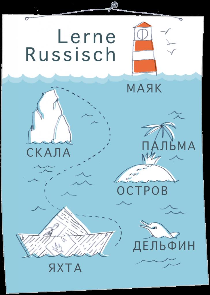 Lerne Russisch Schkola Rus